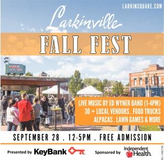 Larkinville Fall Fest