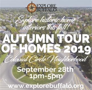 Explore Historic Home Interiors this Fall!