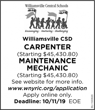 Carpenter & Maintenance Mechanic Needed