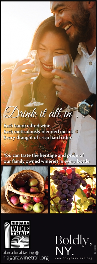 You Can Taste the Heritage & Pride of Our Family Owned Wineries in Every Bottle