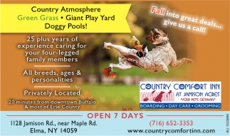Fall Into Great Deals... Give Us a Call!