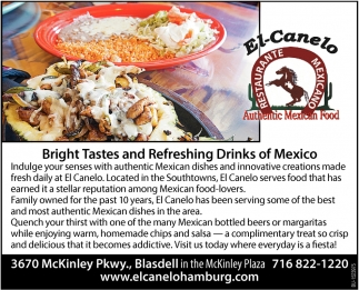 Bright Tastes & Refreshing Drinks of Mexico