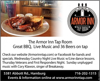 Great BBQ Live Music & 36 Beers on Tap