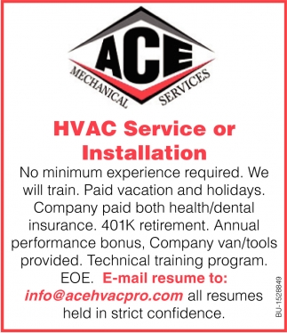 HVAC Service or Installation