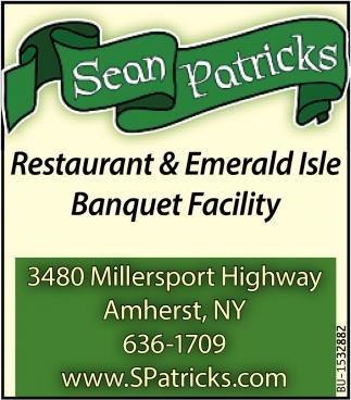 Restaurant & Emerald Isle Banquet Facility