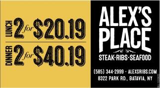 Steak, Ribs & Seafood