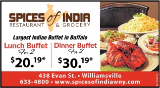 Largest India Buffet in Buffalo