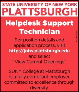 Helpedesk Support Technician