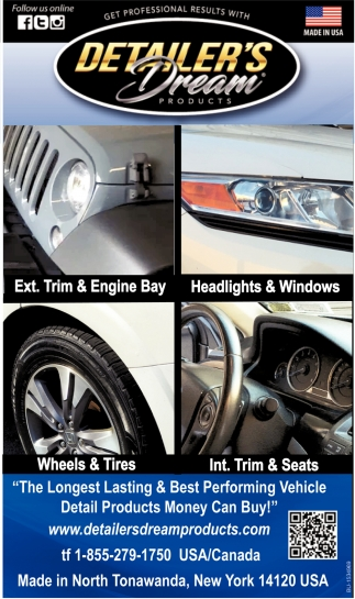 The Longest Lastings & Best Performing Vehicle Detail Products Money Can Buy!