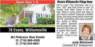 Historic Williamsville Village Home