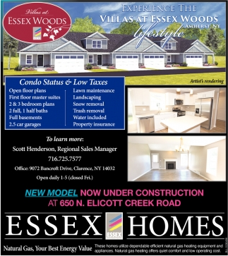 Experience the Villas at Essex Woods
