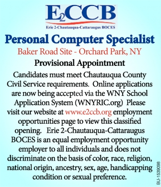 Personal Computer Specialist