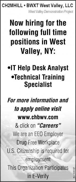 IT Help Desk Analyst