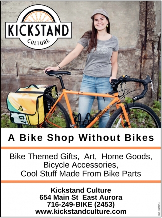 A Bike Shop Without Bikes