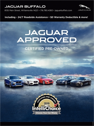 Jaguar Approved, Certified Pre-Owned