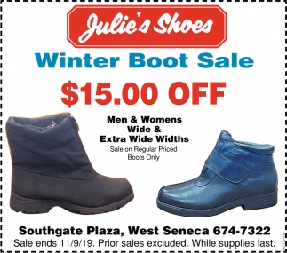 Winter Boot Sale