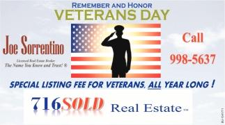 Remember & Honor