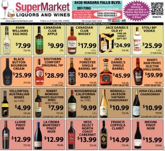 Liquors & Wines