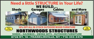 Need a Little Structure in Your Life?