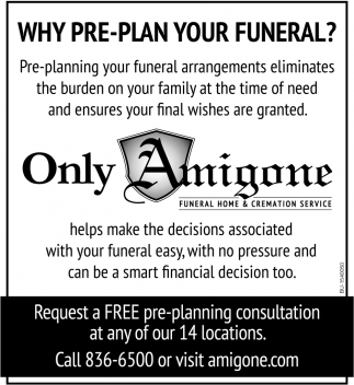 Why Pre-Plan Your Funeral?