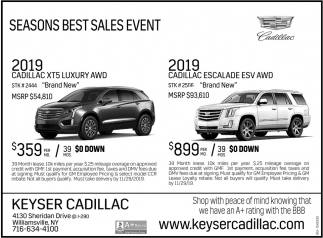 Seasons Best Sales Event
