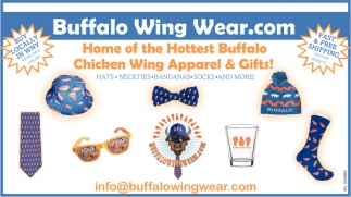 Home of the Hottest Buffalo Chicken Wing Apparel & Gifts!