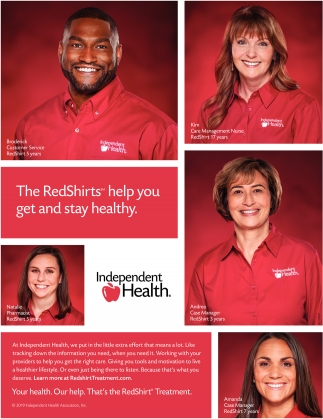 The RedShirts Help You Get and Stay Health