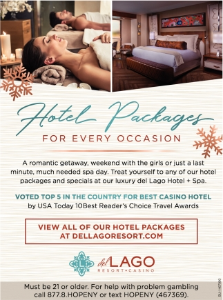 Hotel Packages for Every Occasion