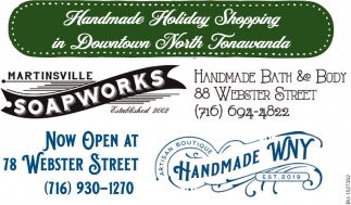 Handmade Holiday Shopping in Downtown North Tonawanda