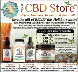 Give the Gift of Relief this Holiday Season!