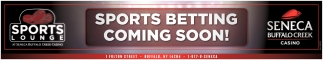 Sports Betting Coming Soon!