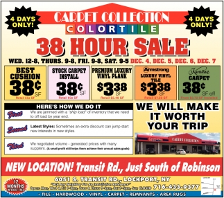 38 Hour Sale