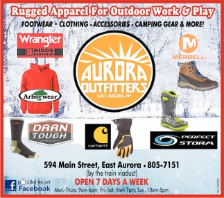 Rugged Apparel for Outdoor Work & Play