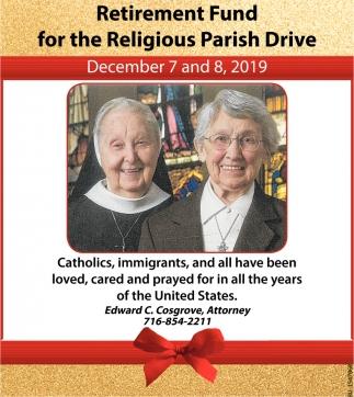 Retirement Fund for the Religious Parish Drive