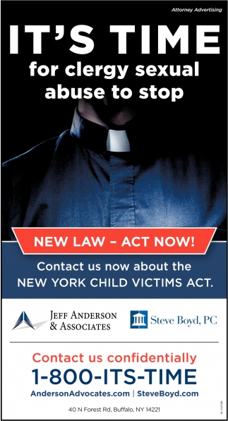 It's Time for Clergy Sexual Abuse to Stop