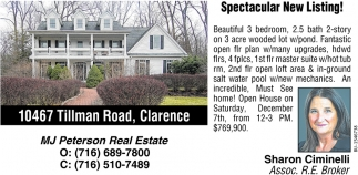 Spectacular New Listing!