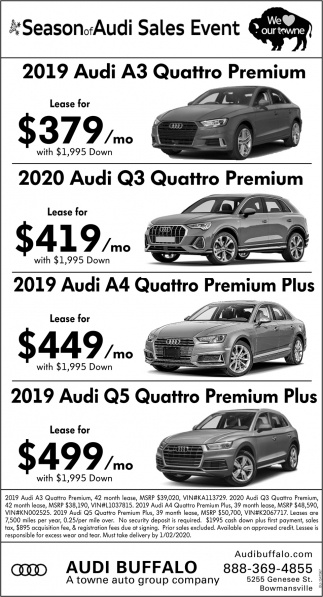 A Season of Audi Sales Event