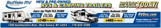 New & Pre-Owned Rvs & Camping Trailers