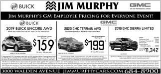 Jim Murphy's GM Employee Pricing for Everyone Event!