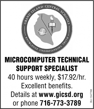 Microcomputer Technical Support Specialist