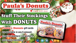 Stuff Their Stockings with Donuts