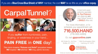 Carpal Tunnel?