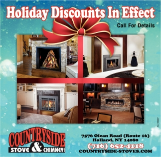 Holiday Discounts in Effect
