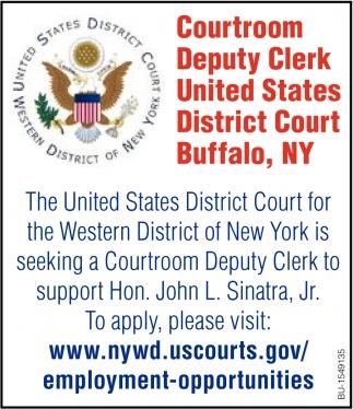 Courtroom Deputy Clerk