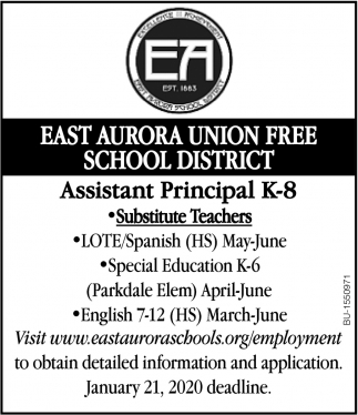 Assistant Principal K-8