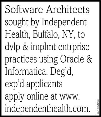Software Architects
