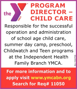 Program Director - Child Care