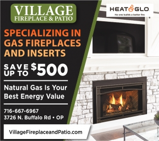 Gas Fireplace And Inserts