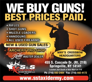 We Buy Guns!