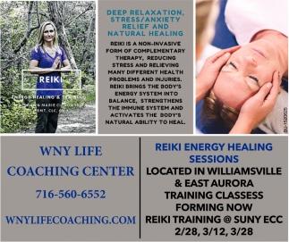 Reiki Energy Healing Sesions